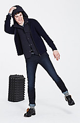 Padded Nylon 2-in-1 Jacket