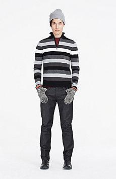 Quarter-Zip Wool Sweater