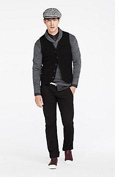 Boiled Wool Vest