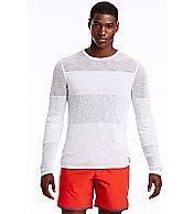 Semi Sheer Tonal Stripe Sweater