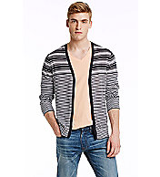 Alternating Stripe Cardigan