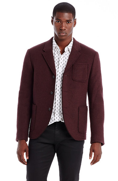 Melton Wool Blazer
