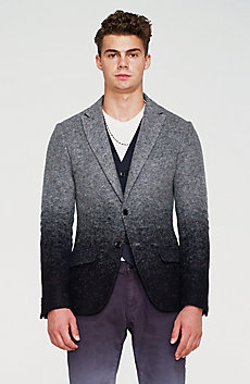 Degrade Wool Blazer