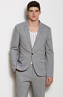 Textured Dress Blazer<br>Online Exclusive