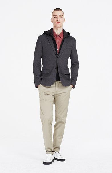 Convertible Hooded Blazer