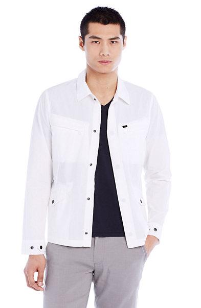 Utility Cotton Shirt Jacket