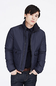 Nylon Zip-Front Jacket