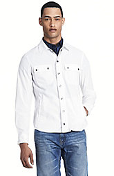 Cotton Utility Shirt Jacket