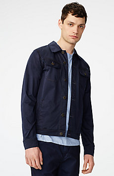 Sleek Trucker Jacket