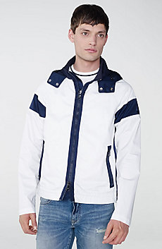 Racing Stripe Colorblock Jacket