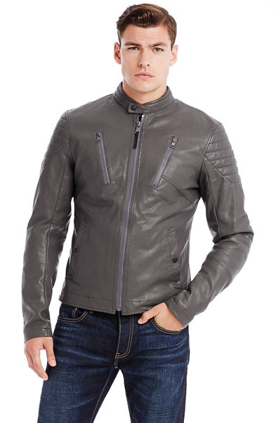 Detailed Moto Jacket