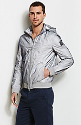 Nylon Mesh Hooded Jacket