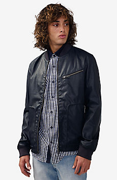 Reversible Moto Jacket