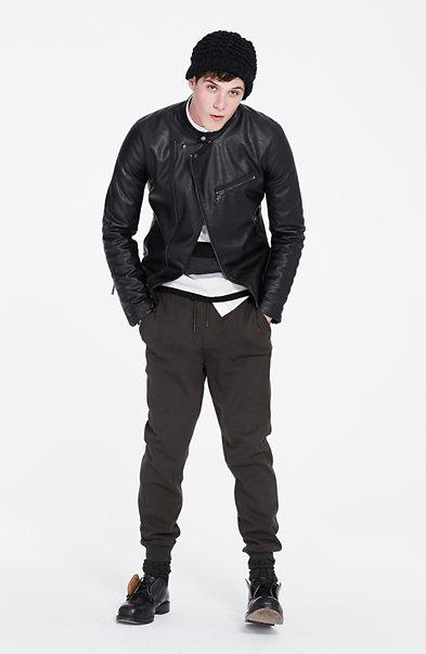 Modern Rib Moto Jacket