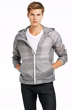 Print Nylon Jacket