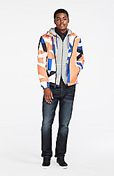 Graphic Packable Jacket