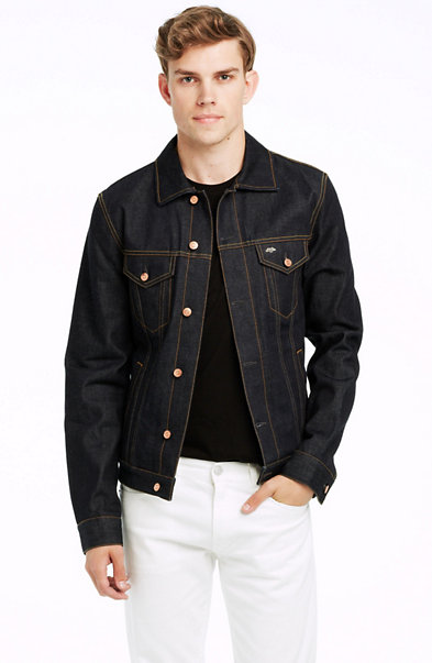 Rinsed Selvedge Denim Jacket