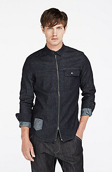 Indigo Zip Jacket