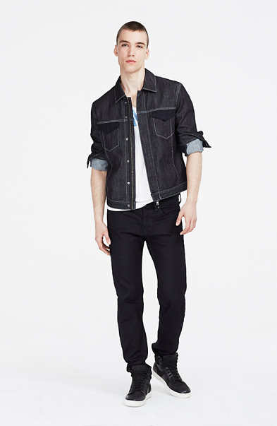 Pieced Indigo Jacket
