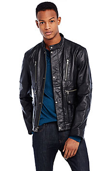 Signature Leather Jacket