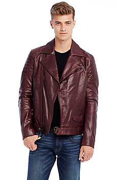 Leather Moto Jacket