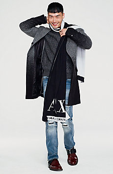 Degrade Wool Coat