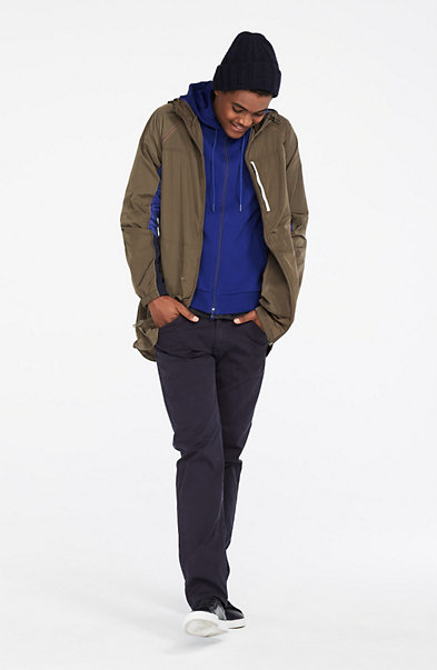 Nylon Packable Jacket