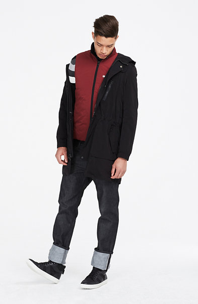 2-In-1 Convertible Parka