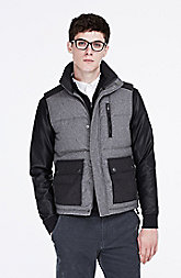 Wool Puffer Vest
