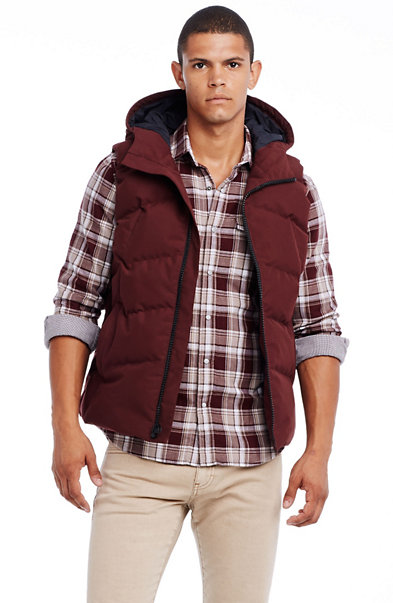 Hooded Puffer Vest