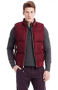 Mesh Puffer Vest