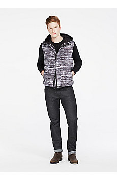 Crosshatch Down Vest
