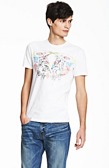 Colorful Blurred Eagle Tee