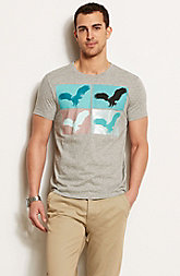 Eagle Canvas Tee