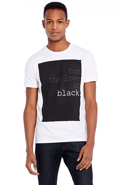 Love of Black Tee