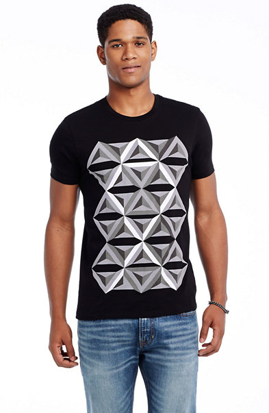Triangle Toss Tee