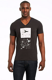 Abstract Eagle Logo Tee