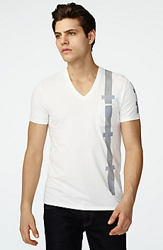 Strapped Graphic Tee