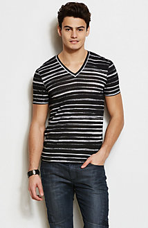 Watercolor Stripe Tee