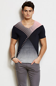Colorblock Quadrant Tee