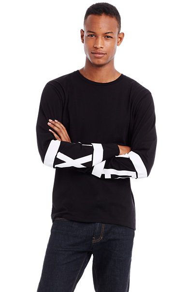 Long Sleeve Print Tee