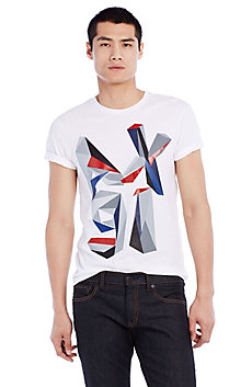 Abstract Logo Tee