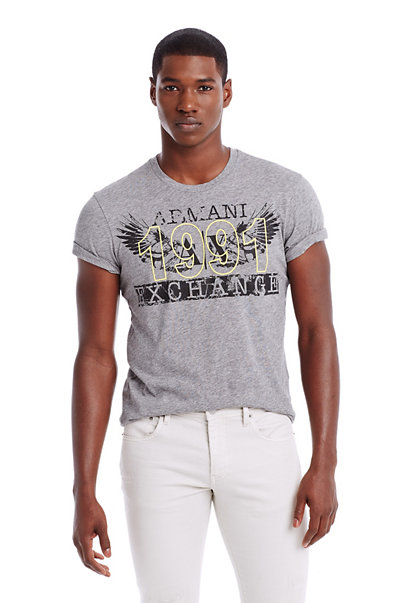 Stamped Eagle Tee
