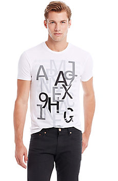 Layered Letter Tee