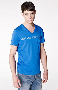 A|X Clean Logo V-Neck