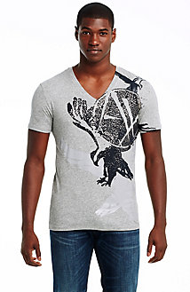 Brushstroke Eagle Tee
