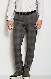 Plaid Dress Pant