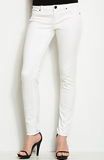 J22 - White Stretch Legging Jean