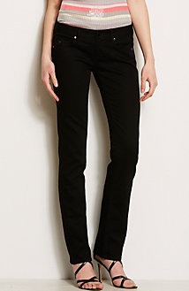 J57 - Black Straight Leg Jean<br>Online Exclusive