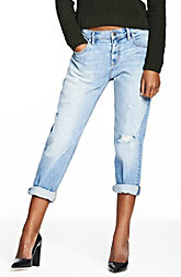 Light Indigo Boyfriend Jean